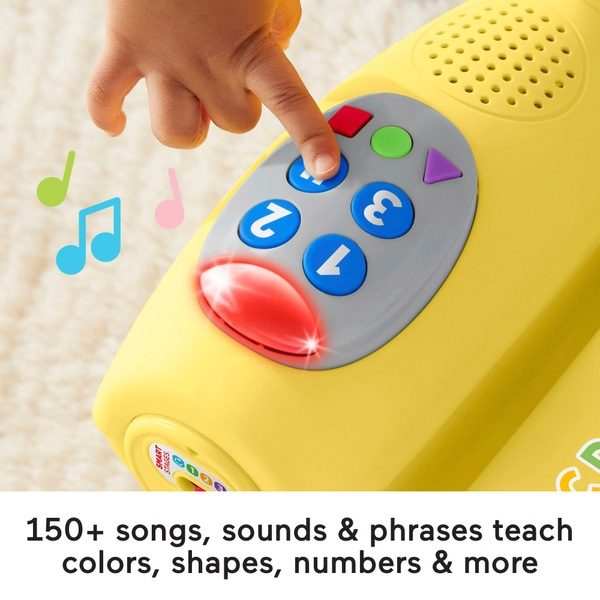 Fisher- Price laugh u0026 learn smart stages activity chair for toddlers- yellow  sc 1 st  Smyths Toys & Fisher- Price laugh u0026 learn smart stages activity chair for toddlers ...