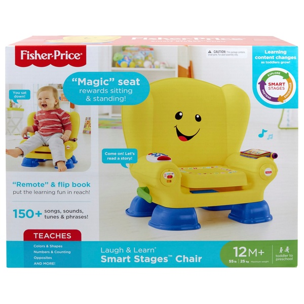 Fisher Price Laugh Learn Smart Stages Yellow Activity Chair