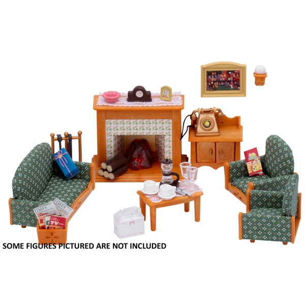 sylvanian living room set sylvanian families deluxe living room set sylvanian 13101