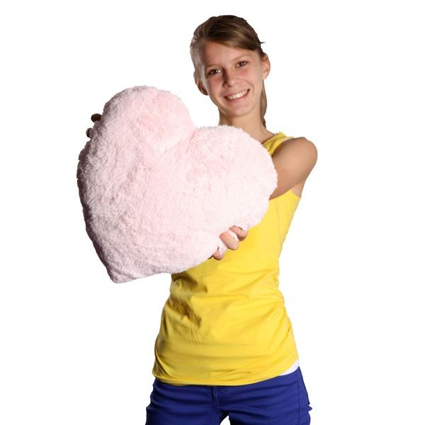 Bright Light Pillow Pink Heart