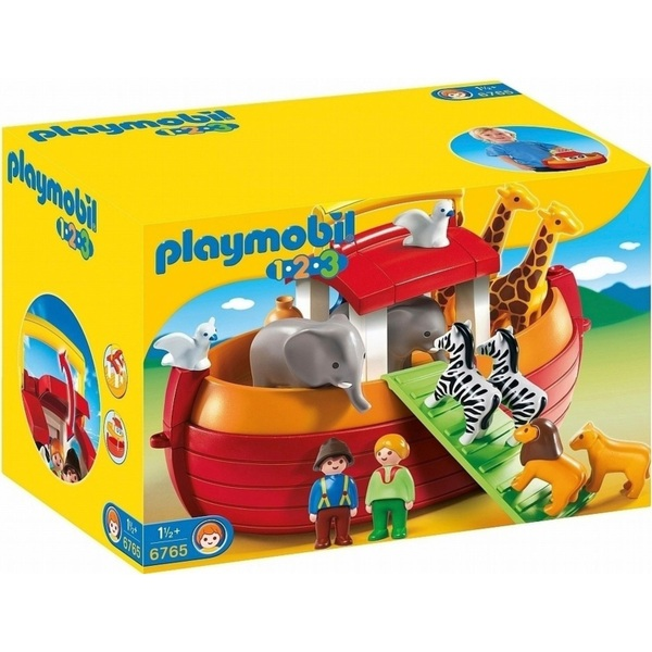 Playmobil 6765 123 Floating Take Along Noah's Ark