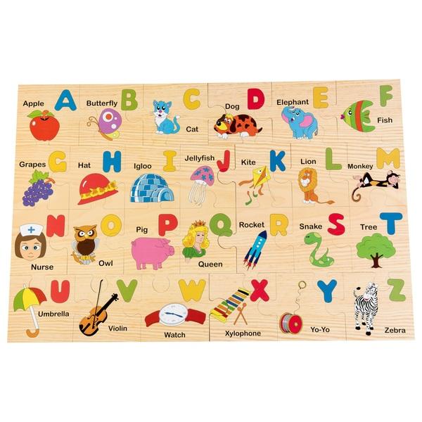 Wooden Floor Puzzle-Alphabet