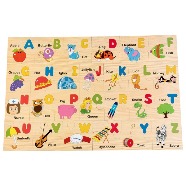 Wooden Floor Puzzle Alphabet Jigsaws Amp Puzzles Ireland