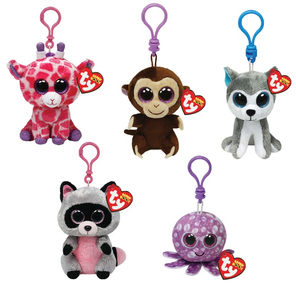 Beanie Boo Clips Assorted 8.89cm
