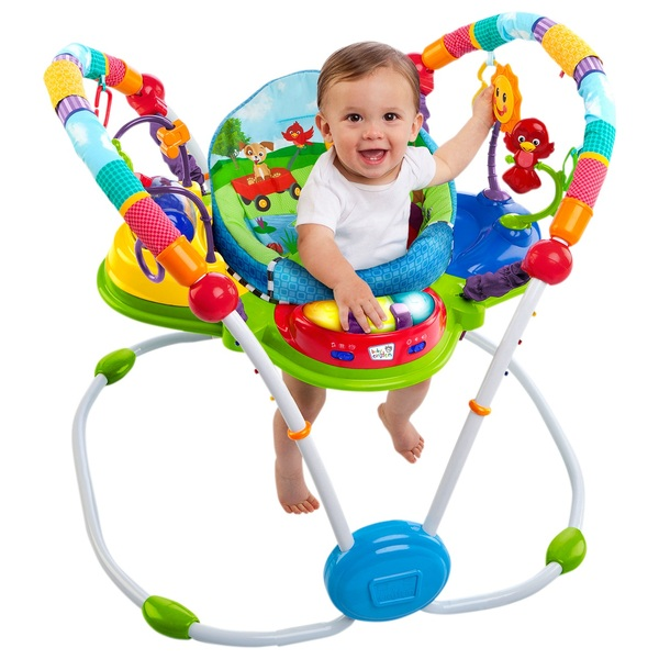 5536bde5a Baby Einstein Neighbourhood Friends Activity Jumper - Entertainers and  Jumpers UK