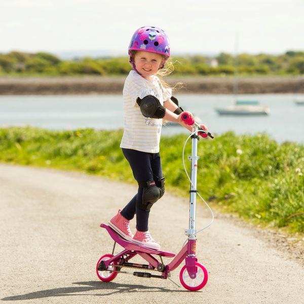 Space Scooter X360 Junior Pink