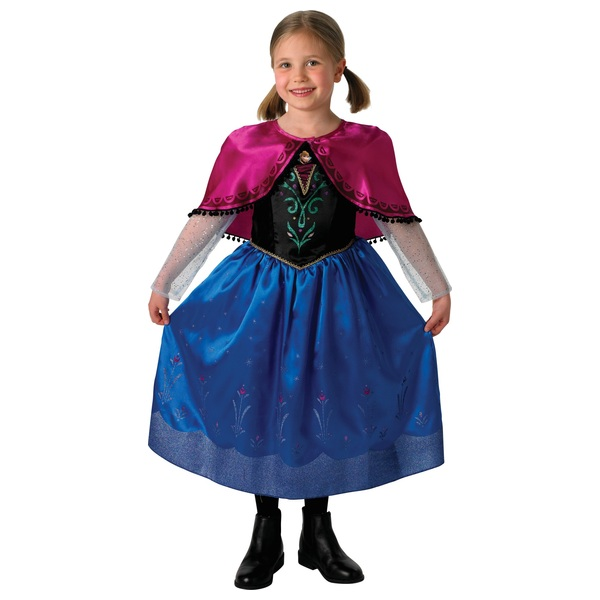 Disney Frozen Deluxe Anna Dress Medium Costume