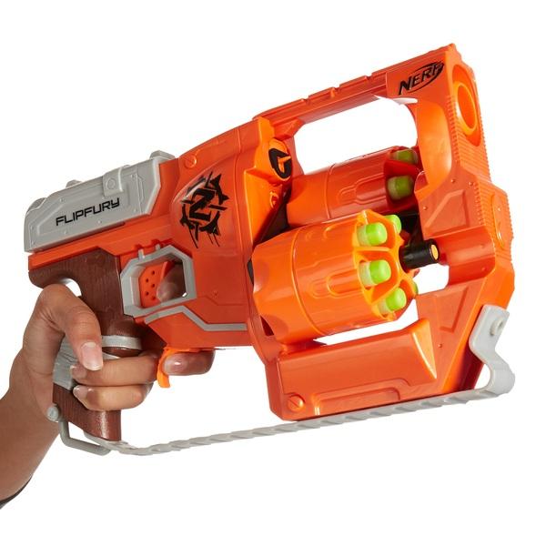 "NERF Zombie Strike Doublestrike Blaster - Toys""R""Us"