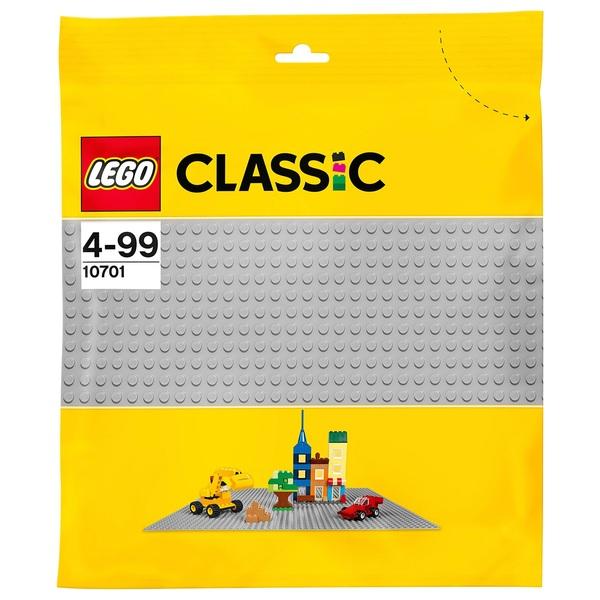 LEGO 10701 Classic Grey Baseplate Set
