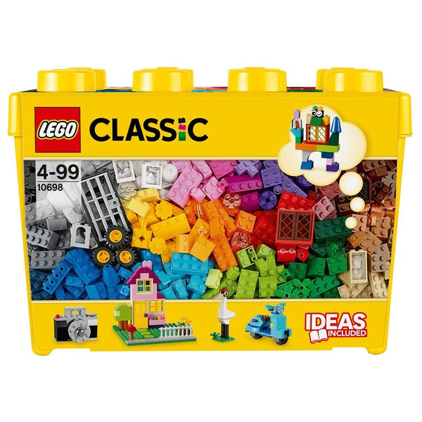 LEGO 10698 Classic Large Creative Brick Box Toy