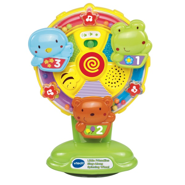 VTech Little Friendlies Sing Along Spinning Wheel - Vtech Baby UK