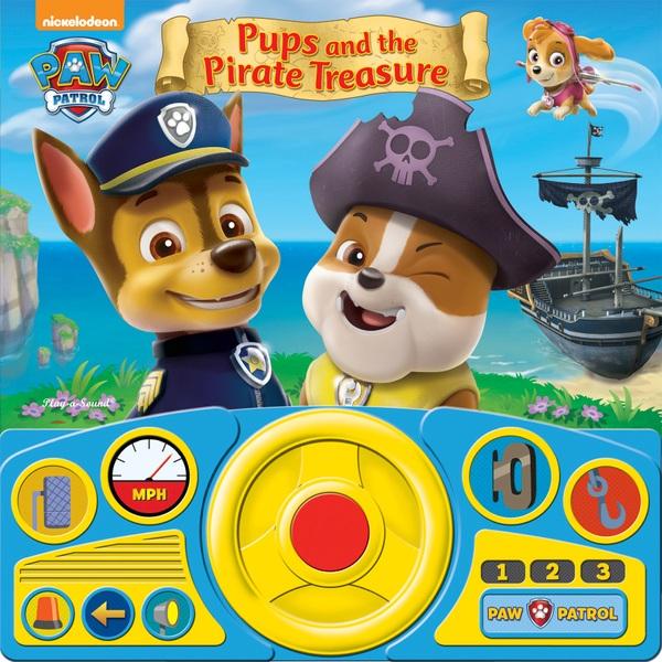 Nickelodeon Paw Patrol Steering Wheel Sound Book