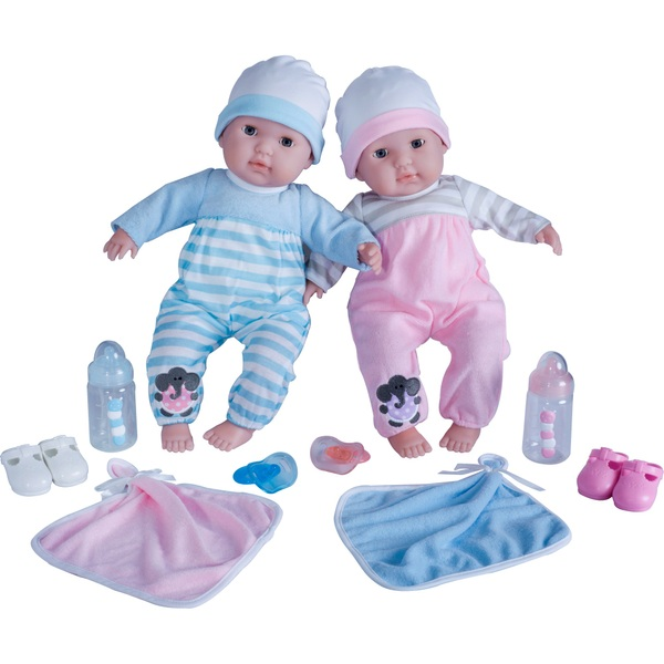 38cm Berenguer Boutique Twins Deluxe Gift set