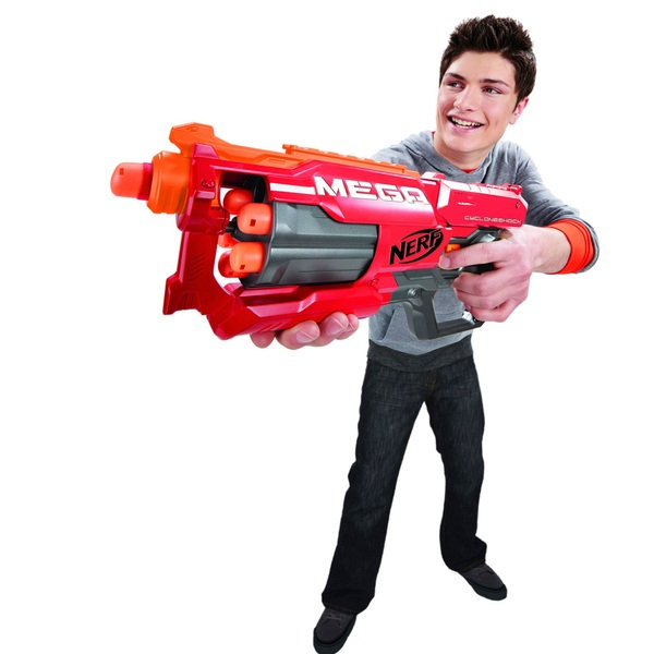 NERF N-Strike Mega Cyclone Shock