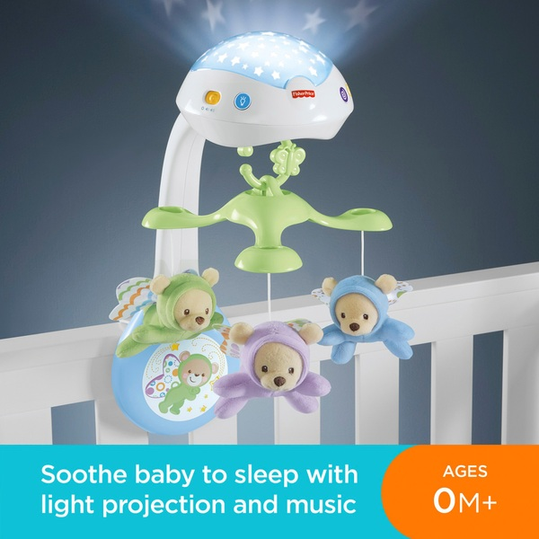 Fisher Price Butterfly Dreams 3 In 1 Newborn Baby Light