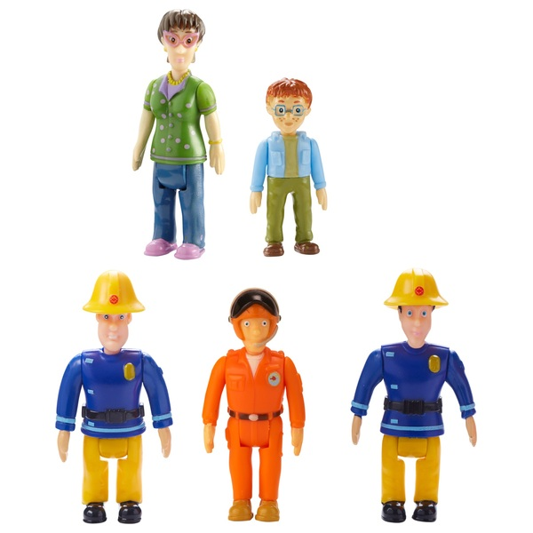 Fireman Sam Action Figure Five Pack