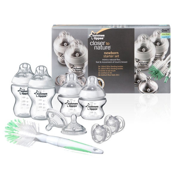 Tommee Tippee Closer to Nature Newborn Bottle Starter Set
