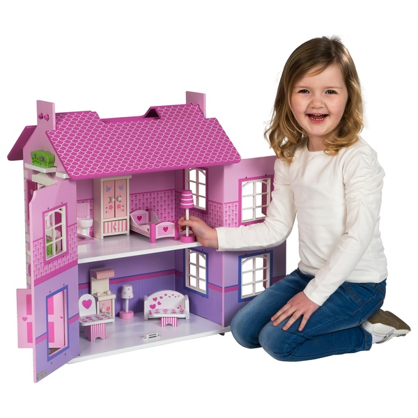 Olivia S Wooden Doll House Dollhouses Uk