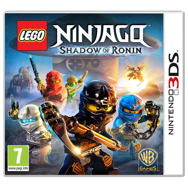Lego Ninjago Shadow Of Ronin 3ds 3ds Games Uk