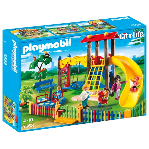 Playmobil children 39 s playground 5568 playmobil ireland for Salle a manger playmobil city life