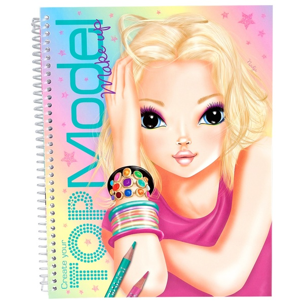 Topmodel Makeup Colouring Book Top Model Ireland