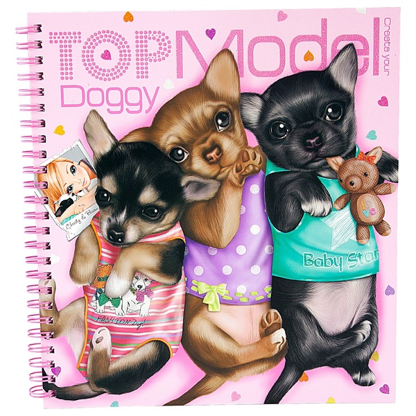 Create Your Topmodel Doggy Colouring Book Clearance Uk