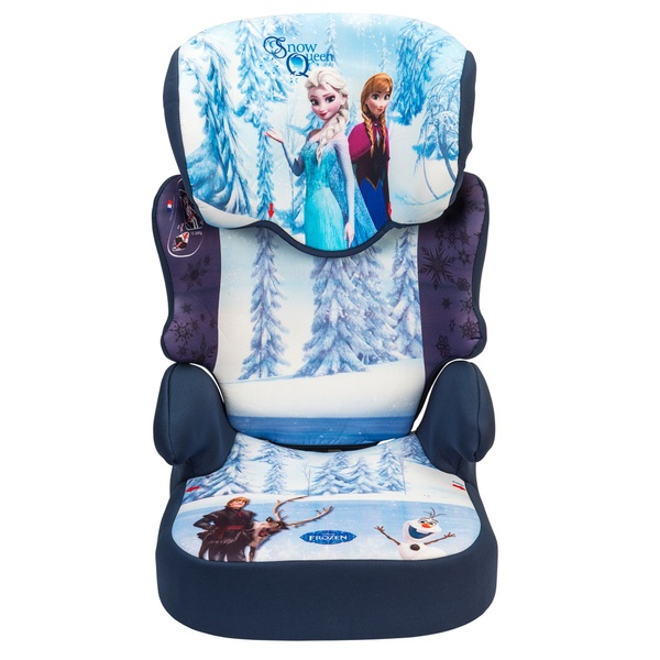 Nania Befix Disney Frozen Group 2 3 High Back Car Booster Seat