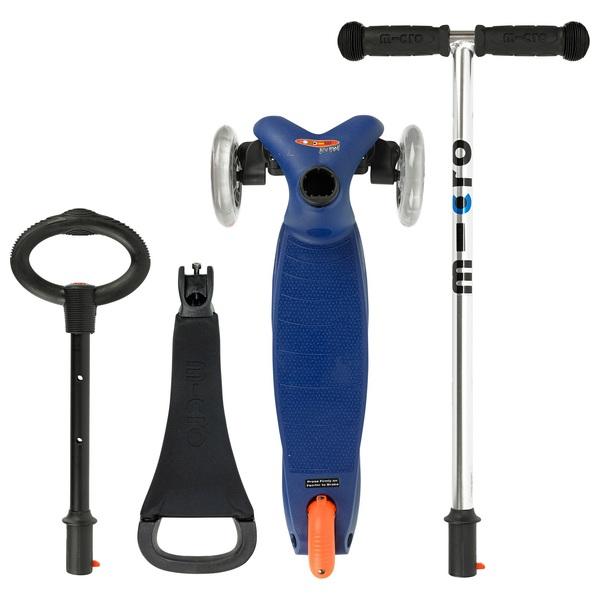 mini micro 3 in 1 original blue micro scooters ireland. Black Bedroom Furniture Sets. Home Design Ideas
