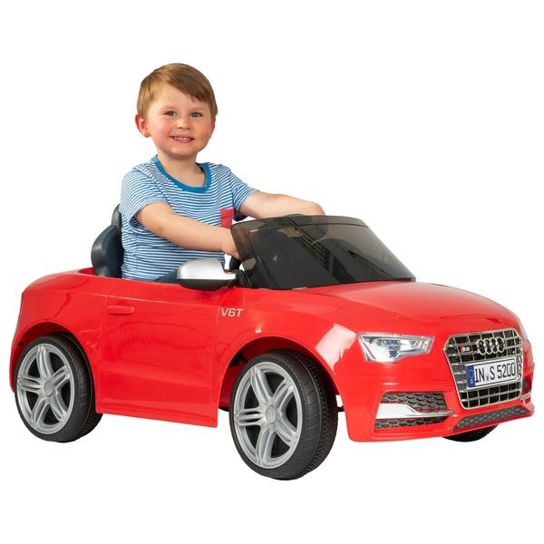 Audi S Cabriolet V Ride On Electric Ride Ons UK - Audi 6v car