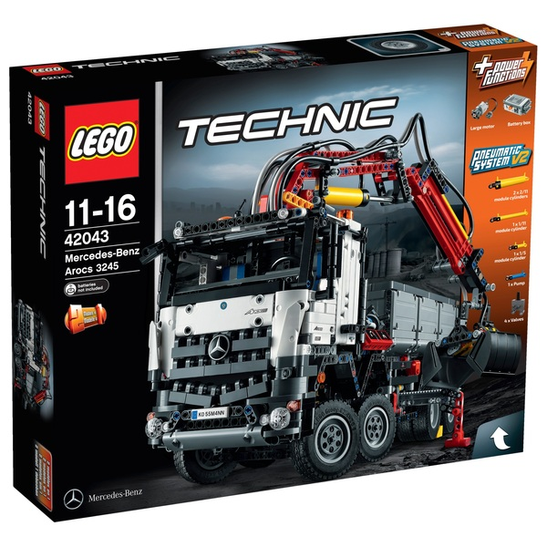 LEGO 42043 Technic Mercedes-Benz Arocs 3245 - LEGO Technic UK