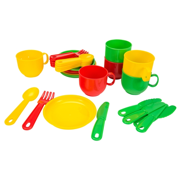 Kitchen Set For Six With Tray