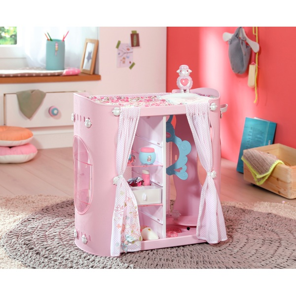 Baby Annabell Baby 2 In 1 Wardrobe And Changing Table