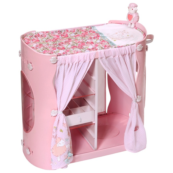 Baby Annabell Baby In Wardrobe And Changing Table Baby - Anna bell baby wardrobe