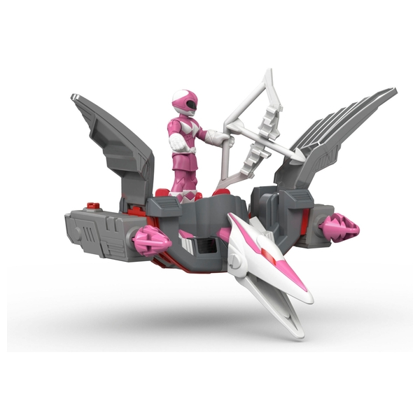 Fisher-Price Imaginext Pink Ranger and Pterodactyl Zord