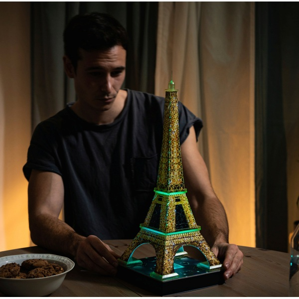 Eiffel Tower 3D Puzzle with Lights - Jigsaws & Puzzles UK