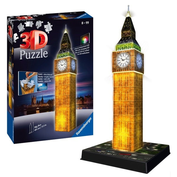 Big Ben Night Edition 3D Puzzle