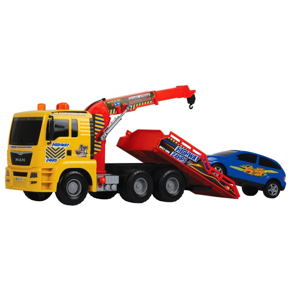 55cm Tow Truck and Car