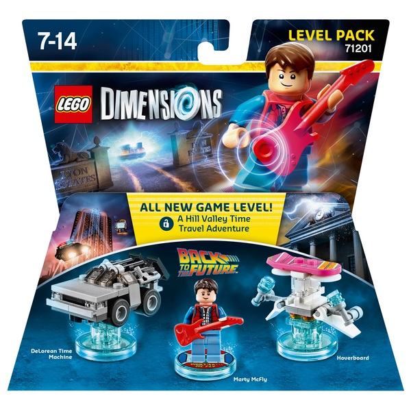 LEGO Dimensions Level Pack: Back to the Future Marty McFly
