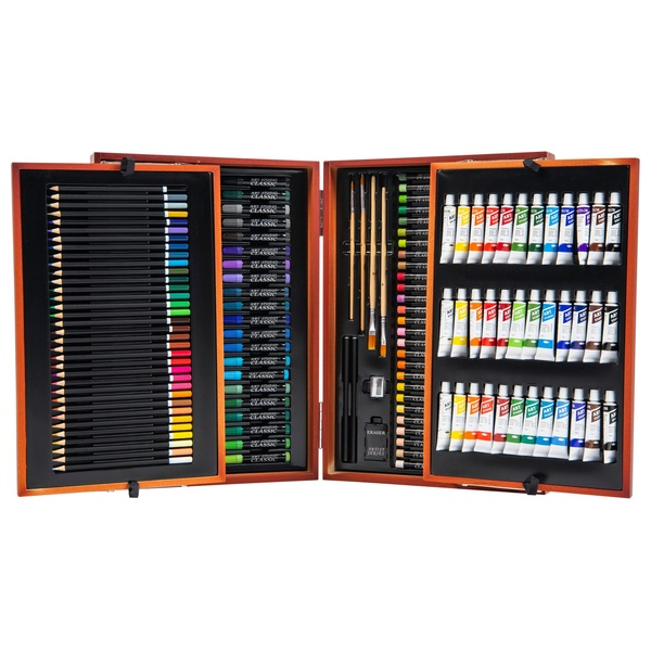 175 Piece Wooden Art Set