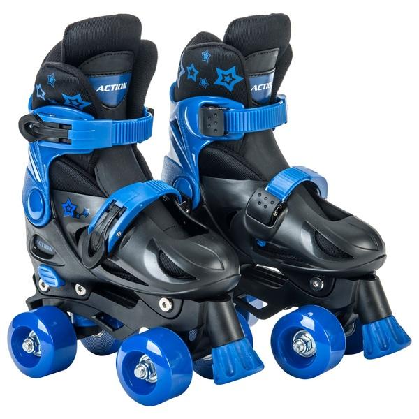 Adjustable Quad Skate 1-3 (UK) Blue/Black