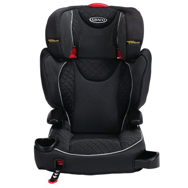 graco affix group 2 3 car seat black groups 2 3 4 11 years approx ireland. Black Bedroom Furniture Sets. Home Design Ideas
