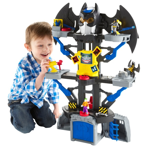 Imaginext DC Super Friends Transforming Batcave Playset