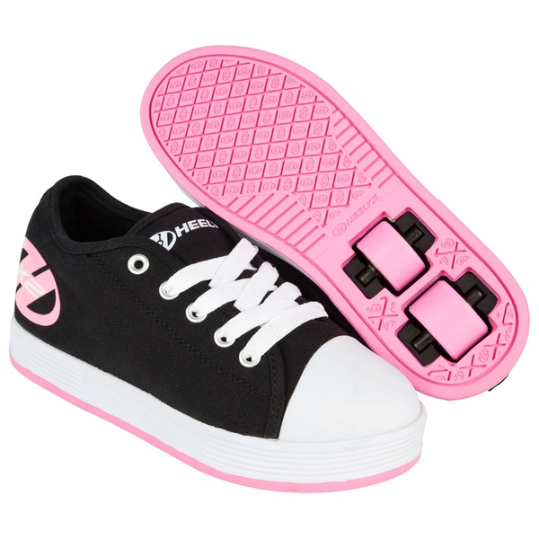 Heelys Fresh Black/Pink UK 1