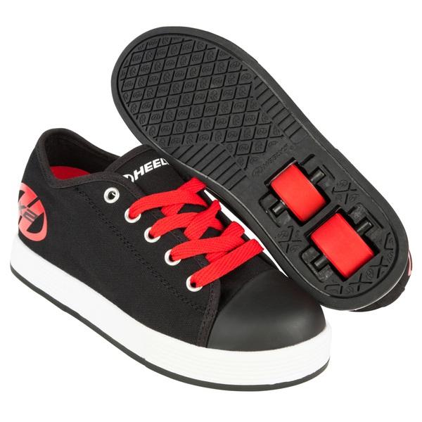 Heelys Fresh Black/Red UK 3