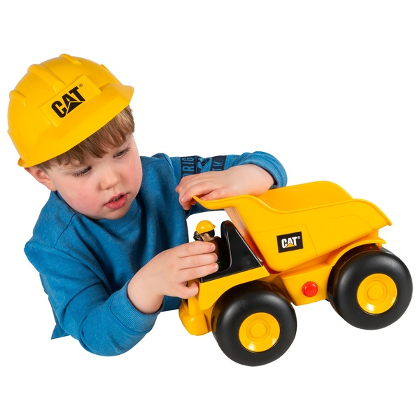 CAT - Big Movin' Rumbler Dump Truck and  Play Helmet