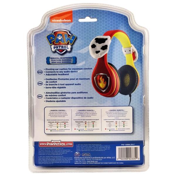 Paw Patrol Marshall Headphones Music Headphones Uk