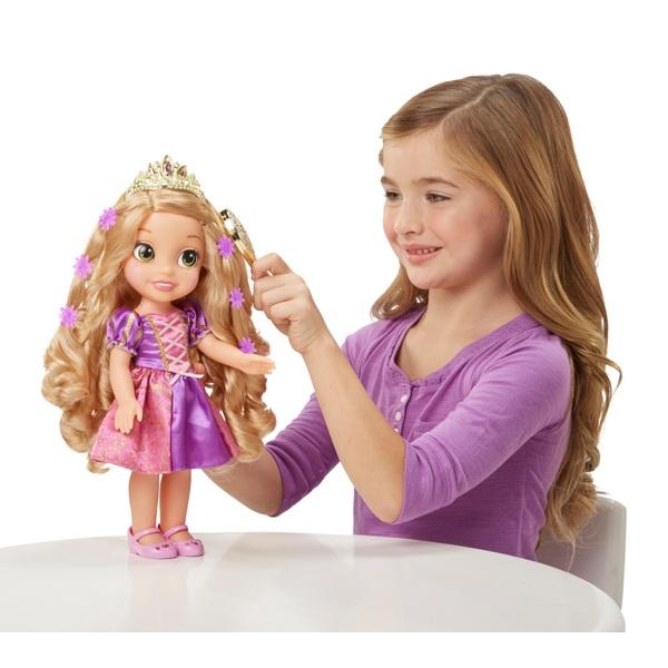 Hair Glow Rapunzel Doll