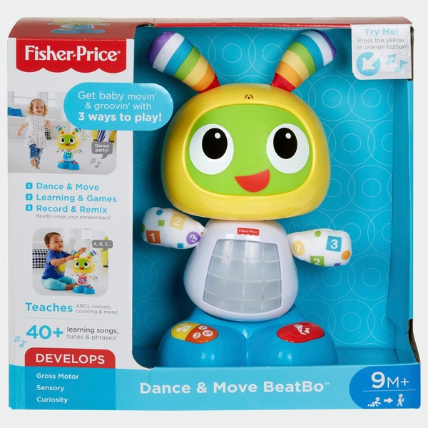 Beste Fisher-Price Dance and Move Beatbo Baby Robot - Educational ZM-41