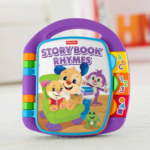 Fisher-Price Laugh & Learn Storybook Rhymes Activity Toy