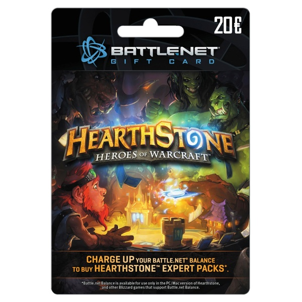 HearthStone Card €20 - Gaming Gift Cards Ireland